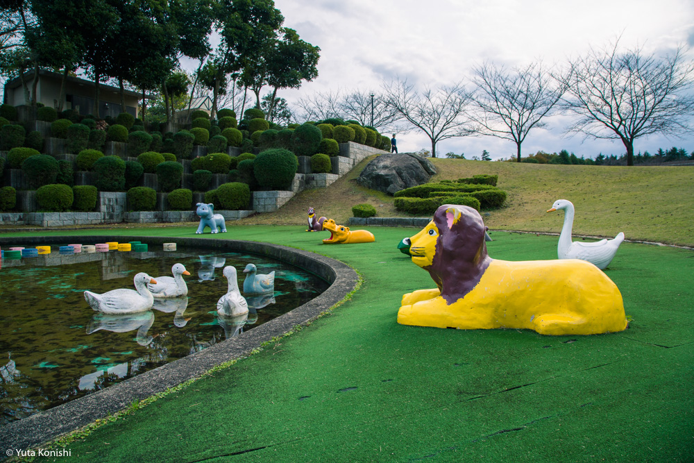 加賀市中央公園パラダイス「もしや?!ここが竜宮城の入り口か?!」加賀に来たらかならず行くべき夢の公園