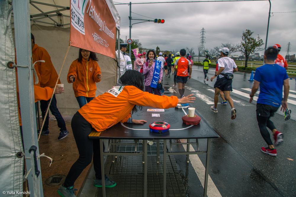 金沢マラソン「食べまっしステーション」口パッサパサ和菓子とカレーは飲み物です?!素晴らしいマラソンでした!