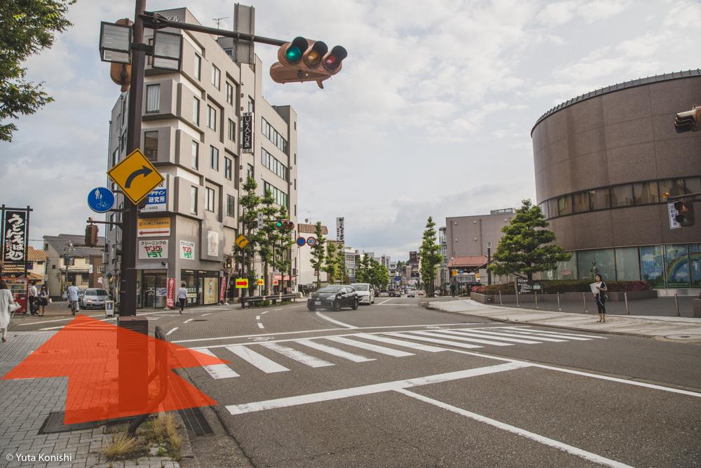 01 金沢古地図散歩「本多町から桜橋まで」金沢21世紀美術館に遊びに来た時には是非やってみて!絶対疲れるから!!
