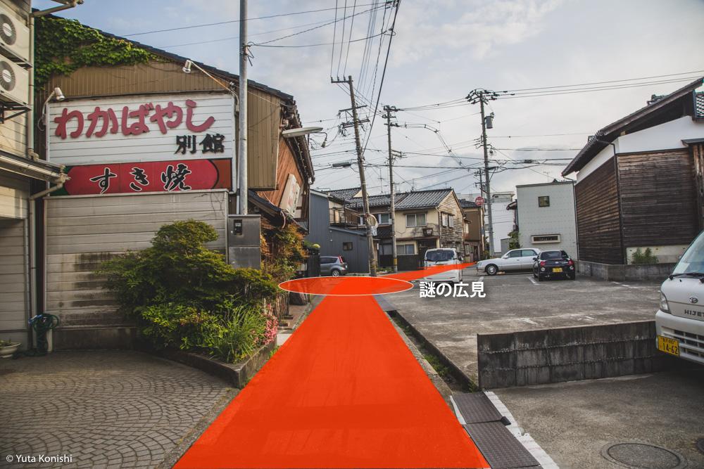 12 金沢古地図散歩「本多町から桜橋まで」金沢21世紀美術館に遊びに来た時には是非やってみて!絶対疲れるから!!
